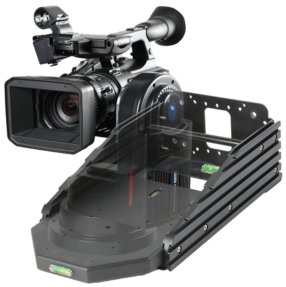 Designed for Datavideo Robotic Pan Tilt Head including PTR-10 and PTR-10T.