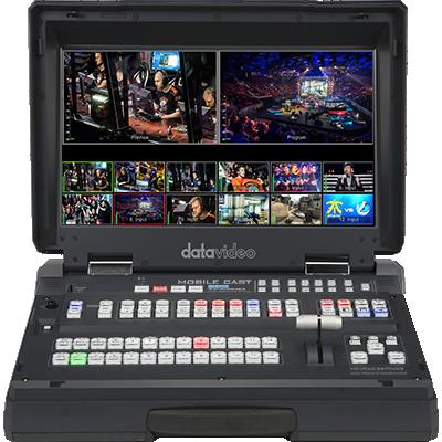 功能齊備的 12 路 Full HD 導播機