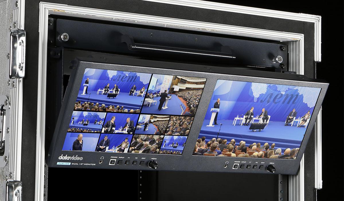 Dualer 10'' Full HD Desktop-Monitor