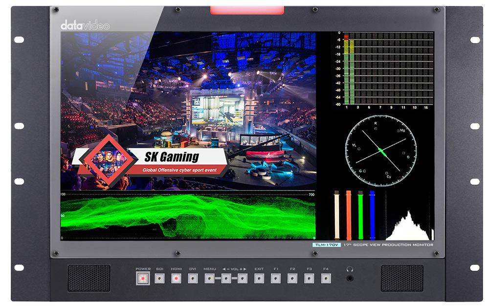 17.3'' Full HD Rack Mount monitor
