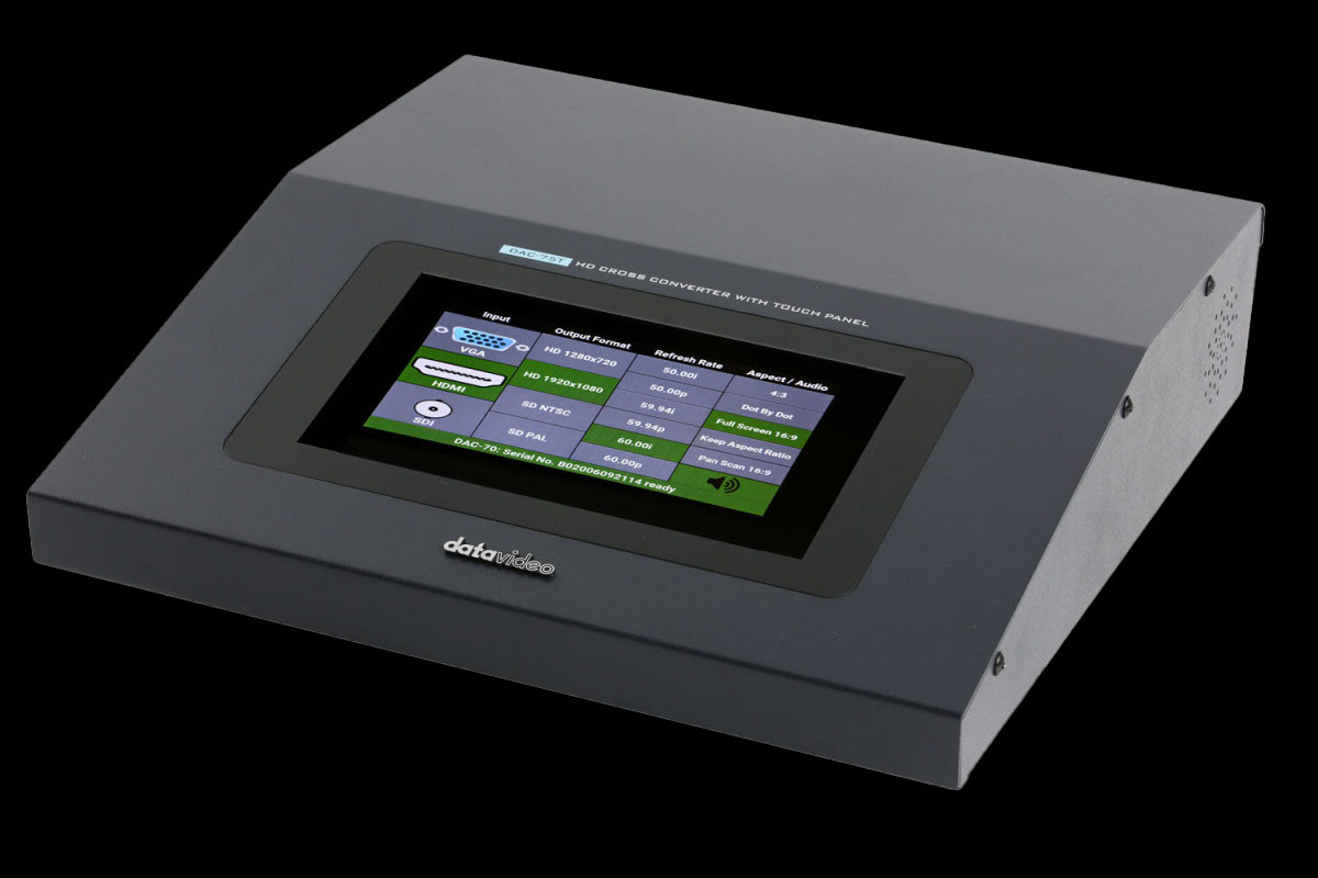 HD Cross Converter with Touch Panel