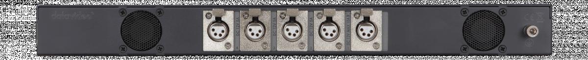 Output : 3 x 5A + 2 x 10A 12V XLR DC Female