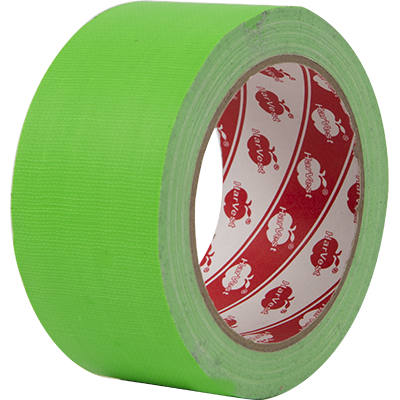 <p>TA-1 enhances the green and blue backdrops. The tapes come in different sizes for all kinds of programs.</p>