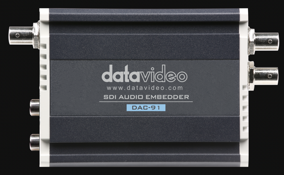 Auto sets compatible formats to embed external sound sources to SDI output