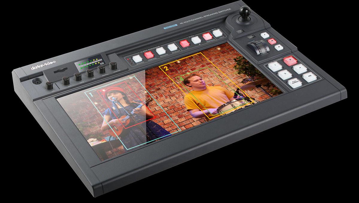 Producing full HD virtual multi-camera video using a single 4K camera