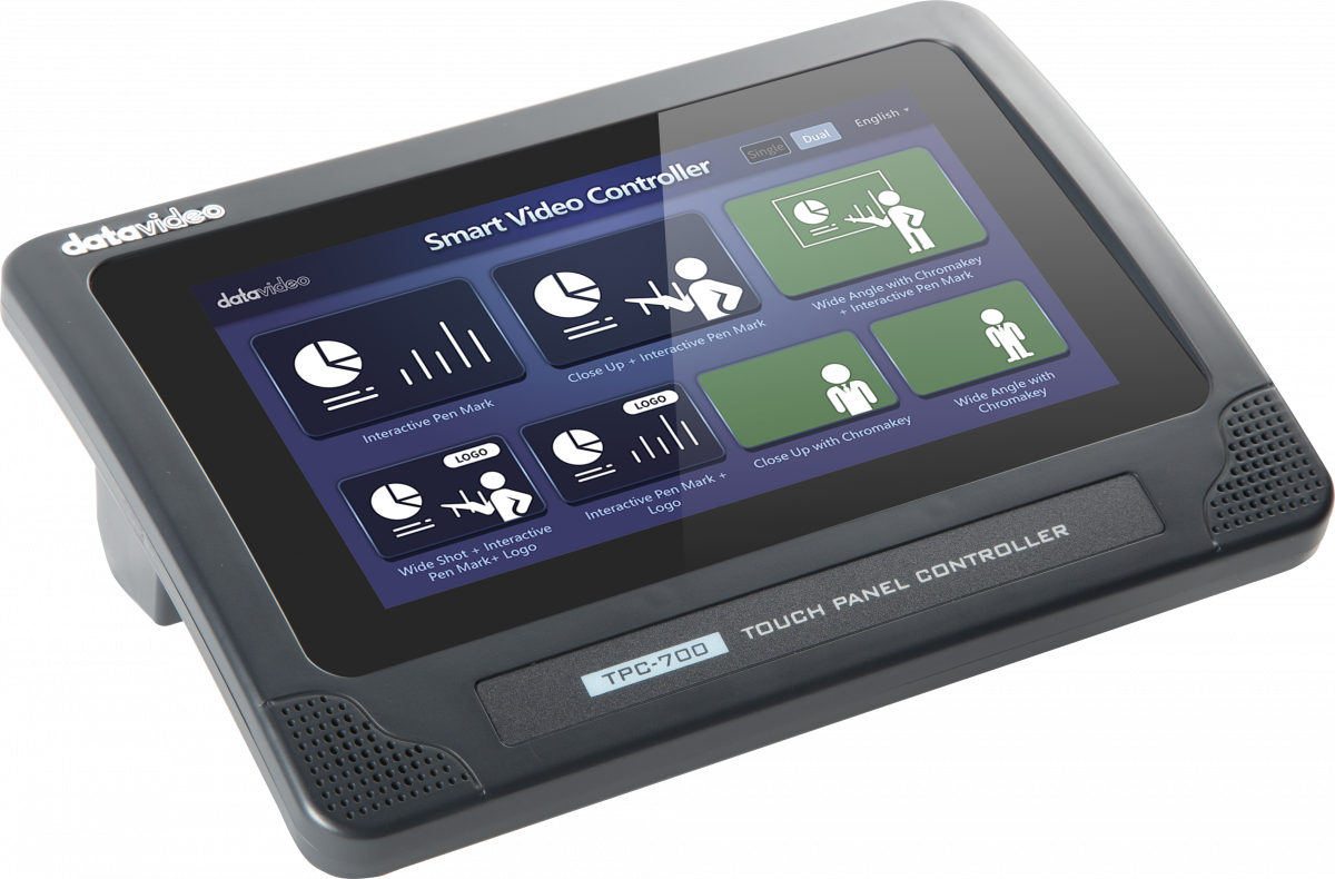 """7 """" smart controller for quick and easy operation"""