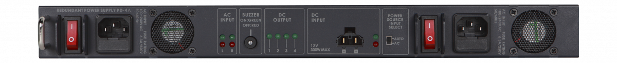 Built-in time delay power-on control to initiate each DC output terminal