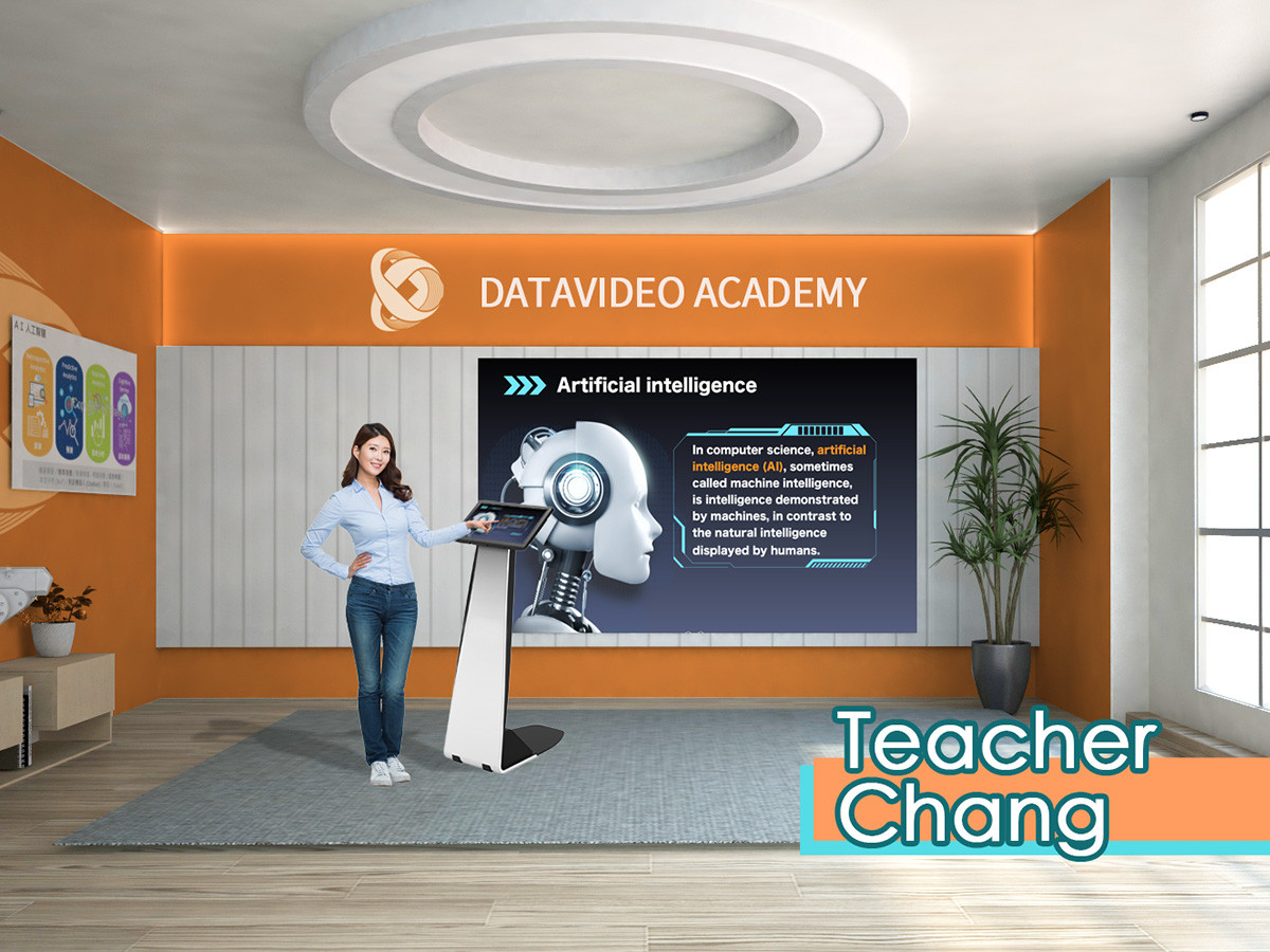 Produce high quality virtual background online courses