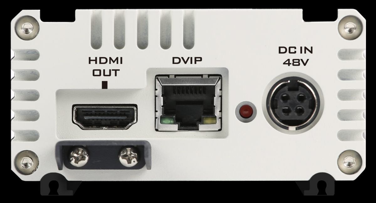 Single cable transmission by HDBaseT technology, up to 100m