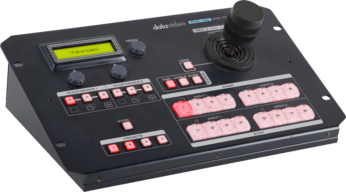 Provides easy and intuitive control of the KMU-100