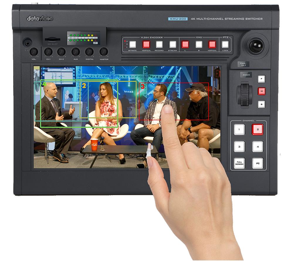 Easy control of virtual cameras