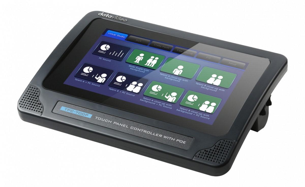 7-Inch Touch Panel Controller with PoE