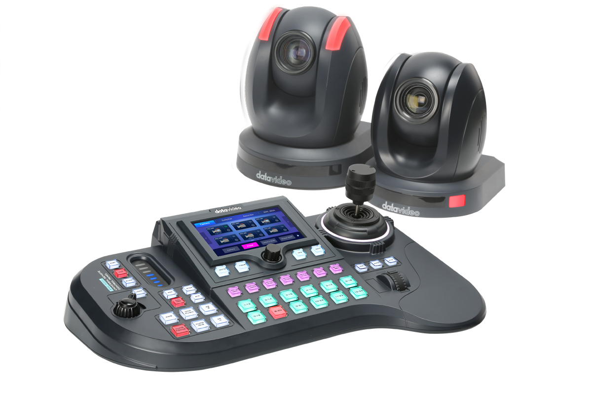 RMC-300A can control up to 24 PTC-150 cameras