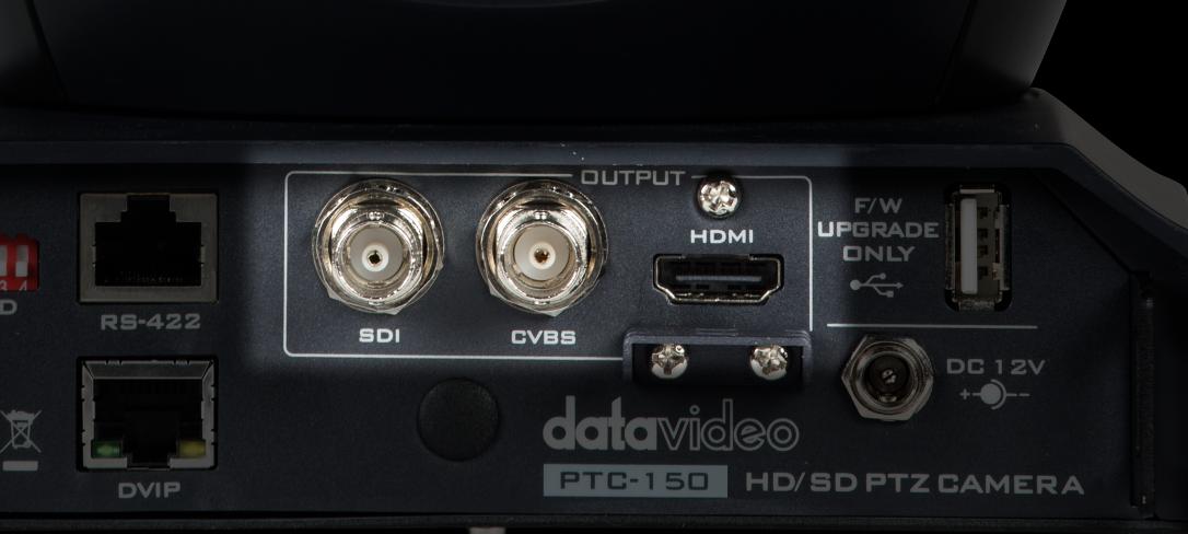 Simultaneous output 3G-SDI+CVBS+HDMI