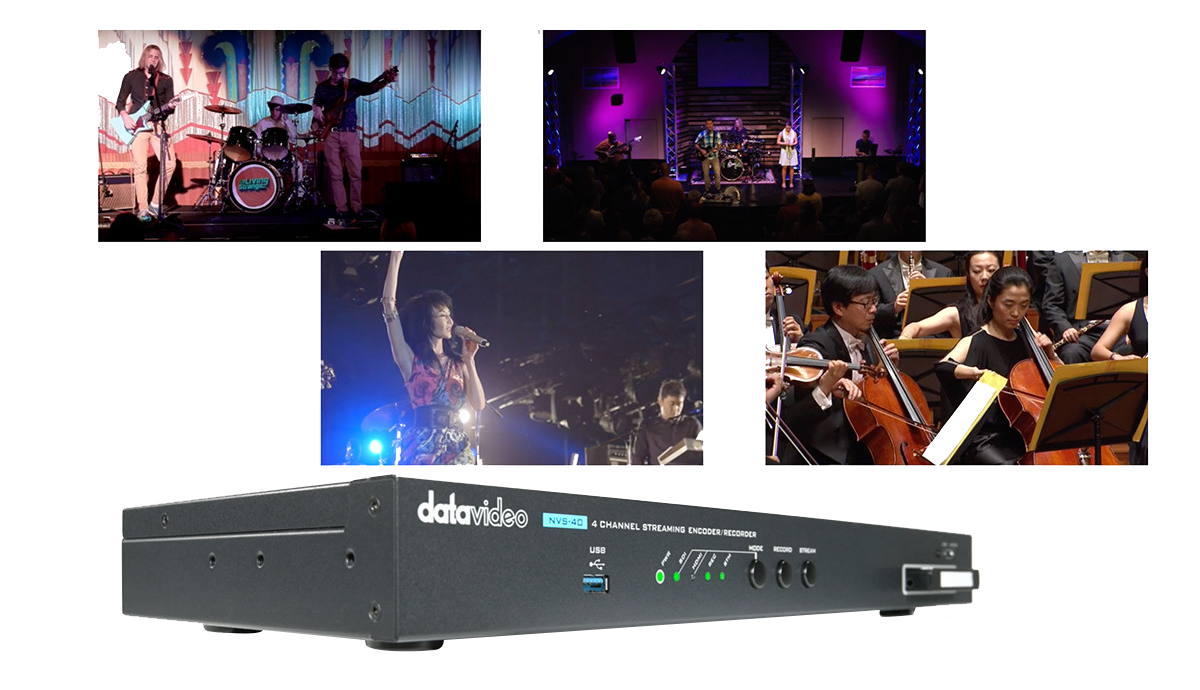 Four channel capture and streaming