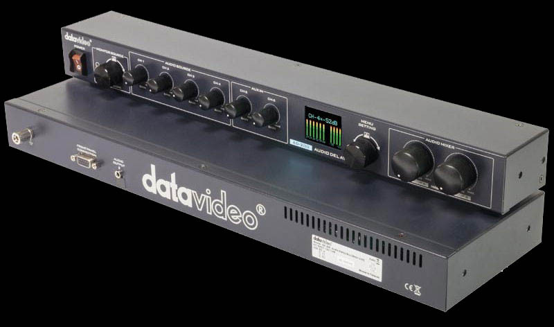 Support up to 3 sec audio delay adjustment for each input channel
