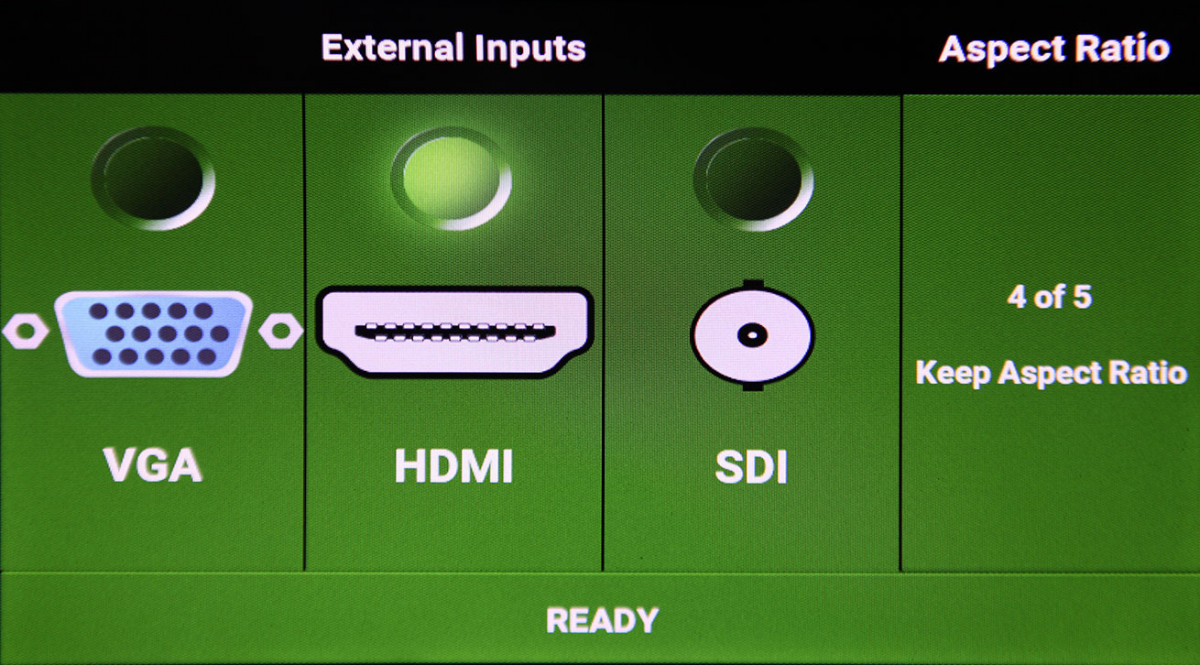 User friendly touch screen controls