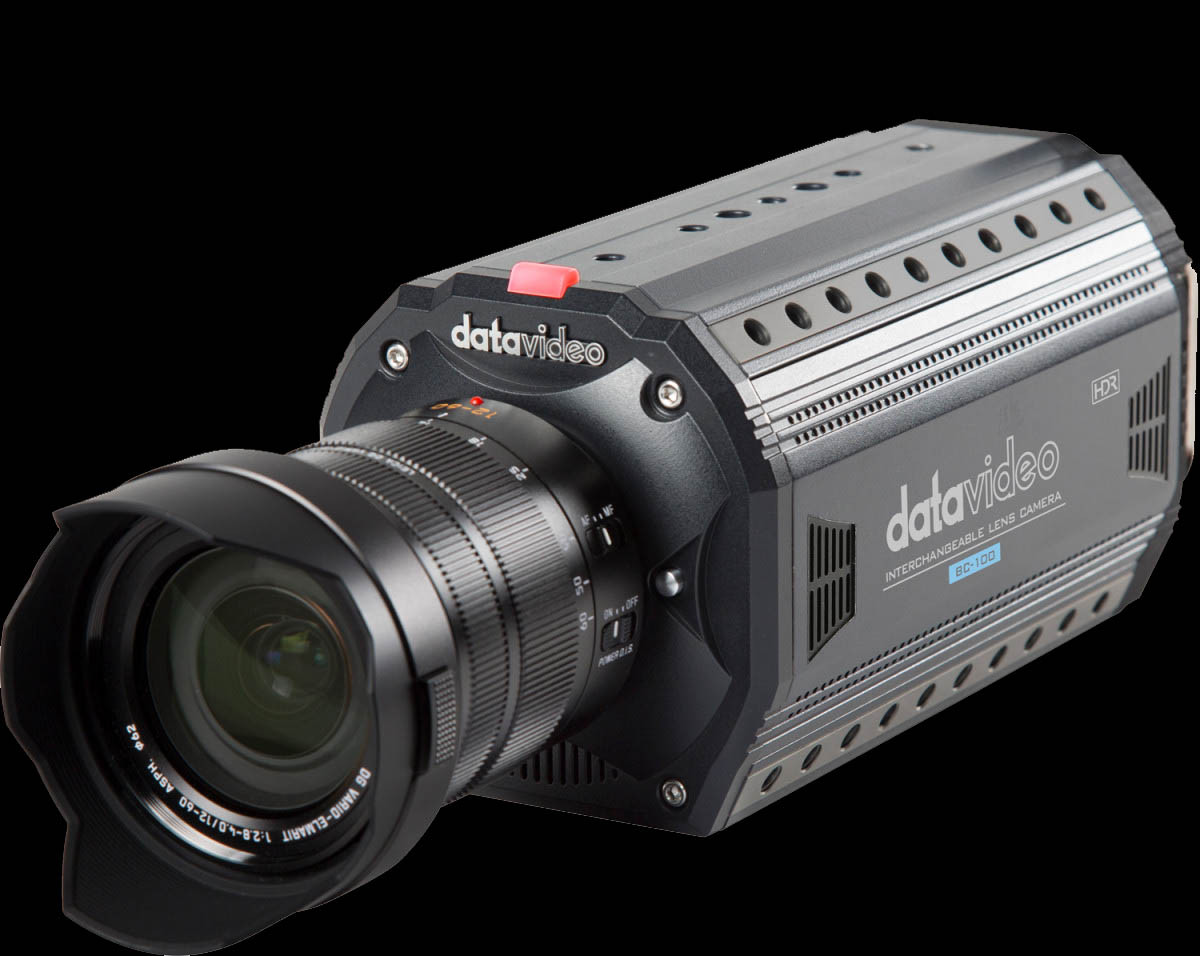 Perfect match with Datavideo BC-100 interchangeable lens camera