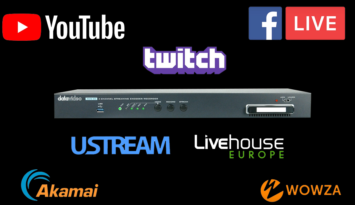 Dual quality encoding per inputup to 30 Mbps