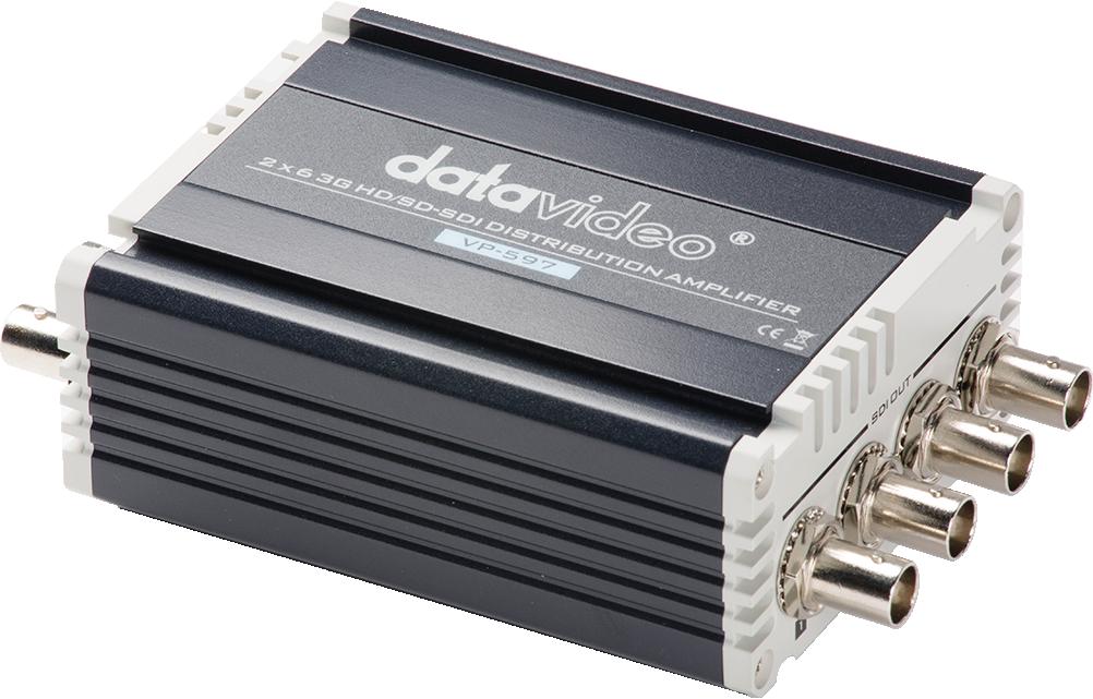 2 x 3G/HD/SD-SDI inputs and 6 x 3G/HD/SD-SDI distribution outputs