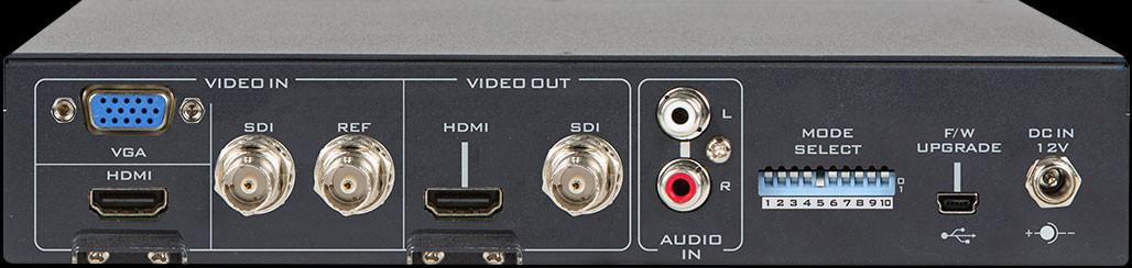 External audio embedding