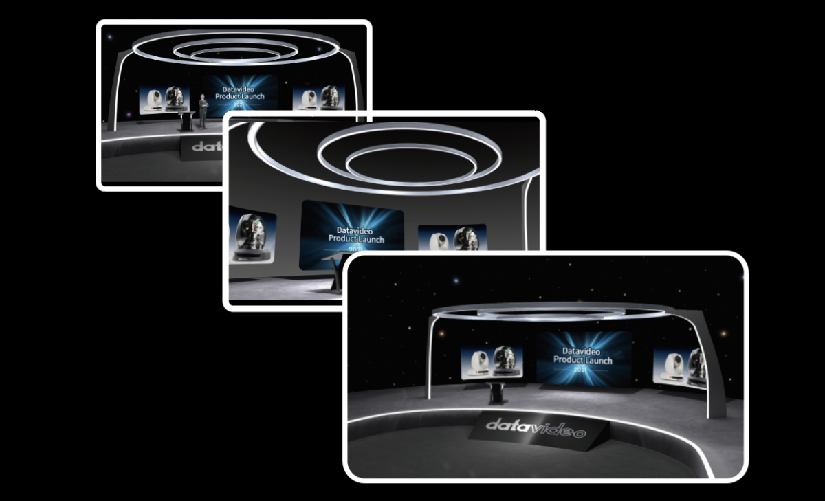 True 3D virtual cameras with easy pan, tilt, zoom and crane movements between images