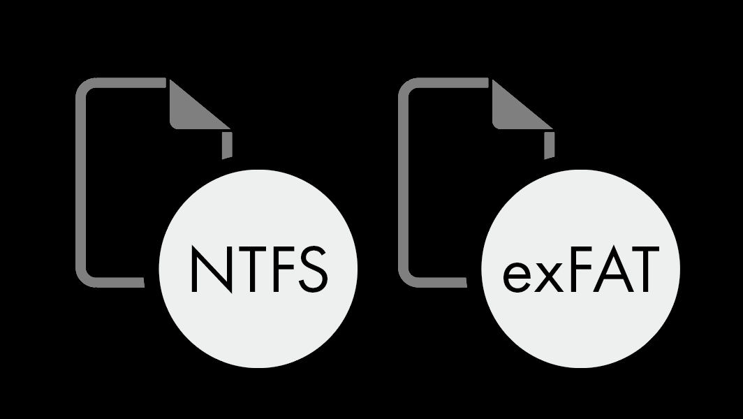Supports FAT/NTFS file system