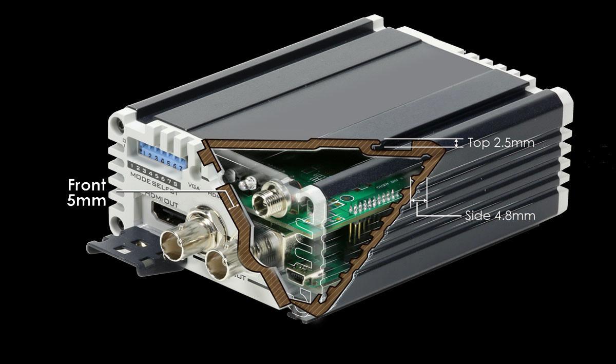 Aluminum Alloy and Heavy Duty Design