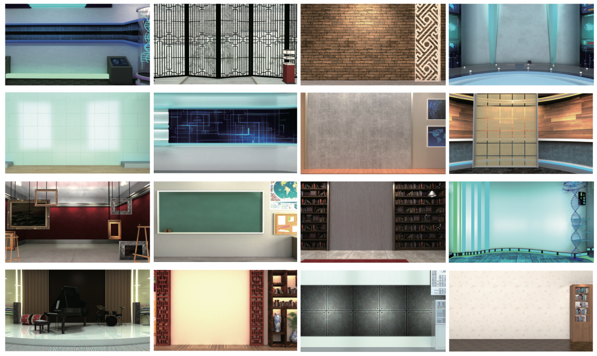 VGB-4000 Exclusive Background Library