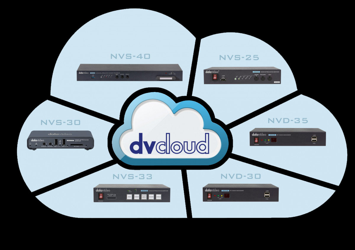 Perfectly Matched with Datavideo Webcast Encoders