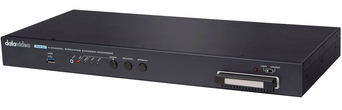 Quad input encoder (4 x HDMI, Channel 1 SDI/HDMI selectable)