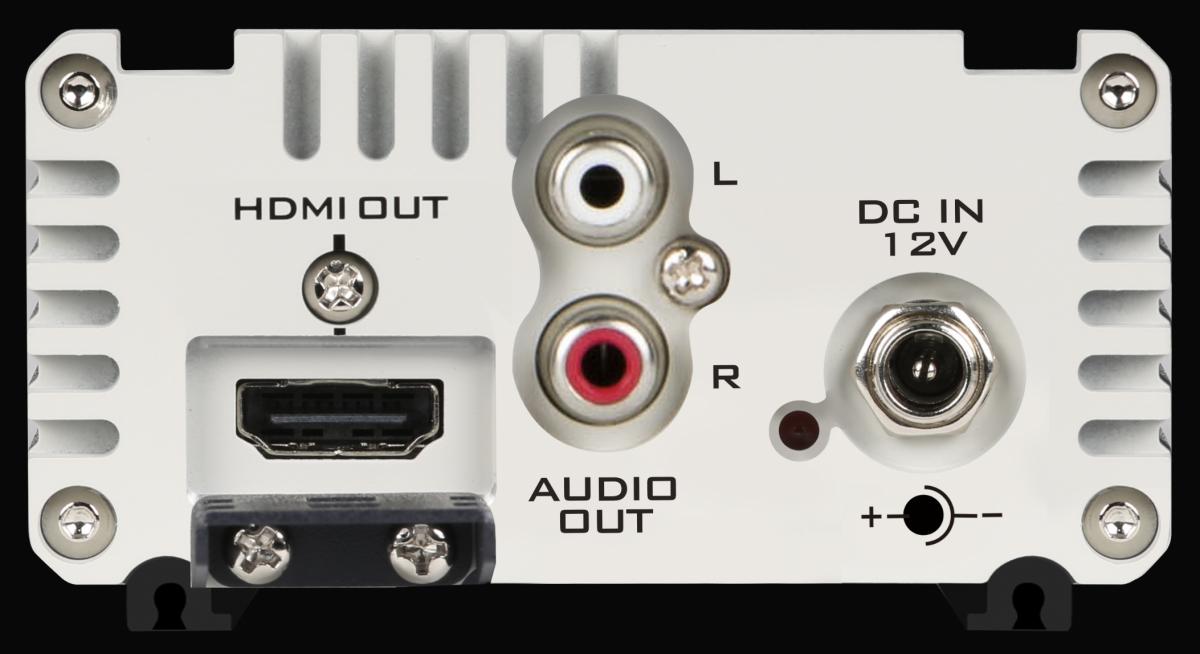 Unterstützt Stereo-Audioausgang