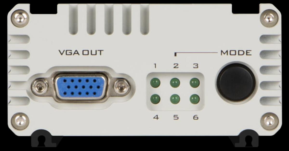 Le DAC-60 prend en charge la conversion 3G/HD/SD-SDI vers VGA