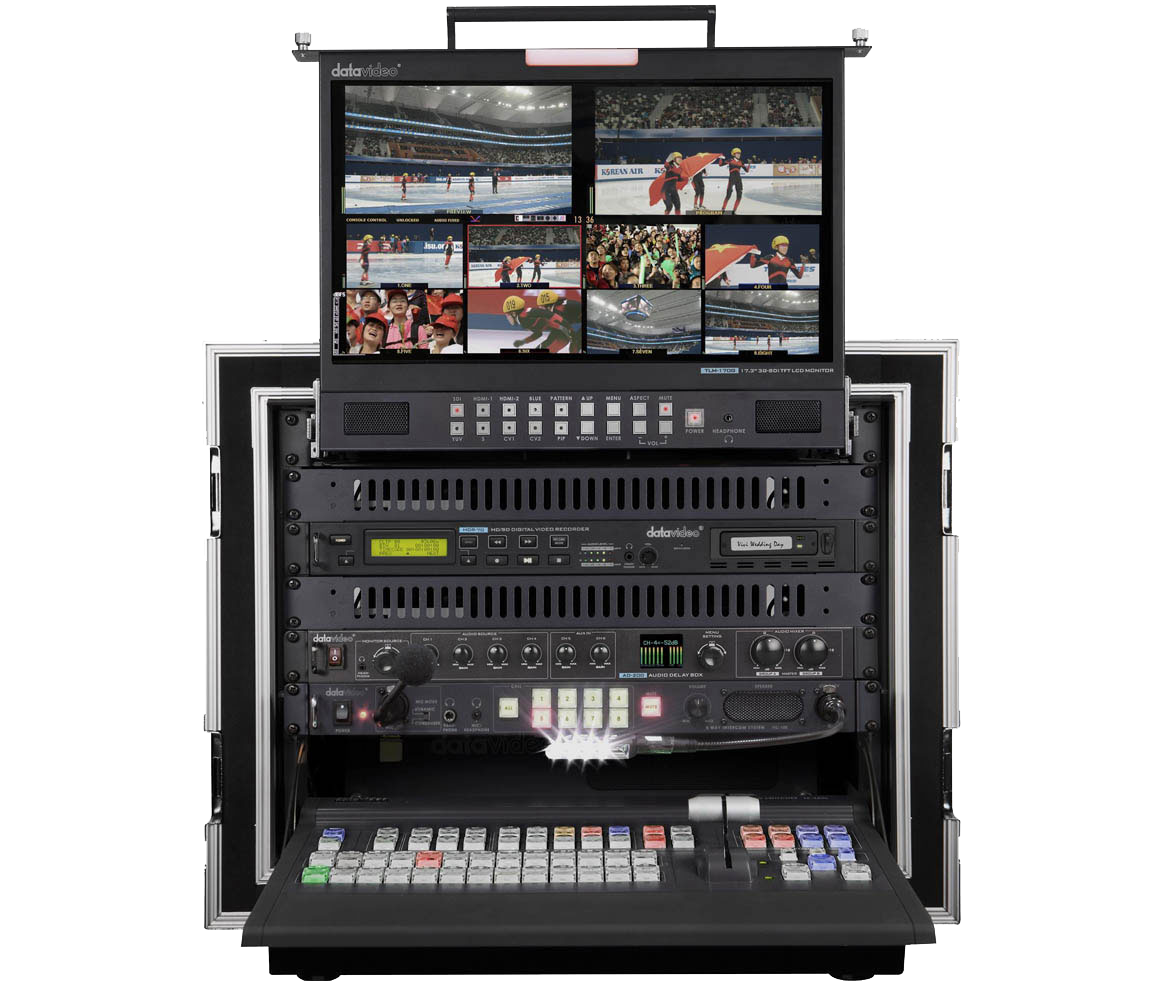 Ideal for any installed or Mobile Studio