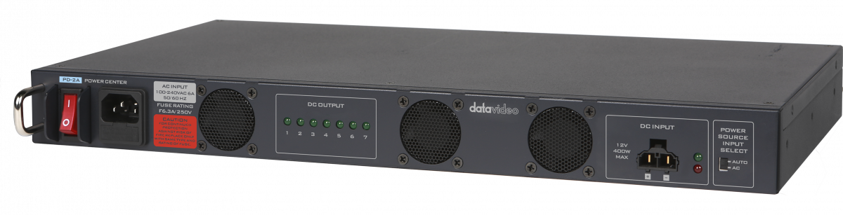 Combine up-to 10 power supplies into a single power connection 400 watt rated power supply