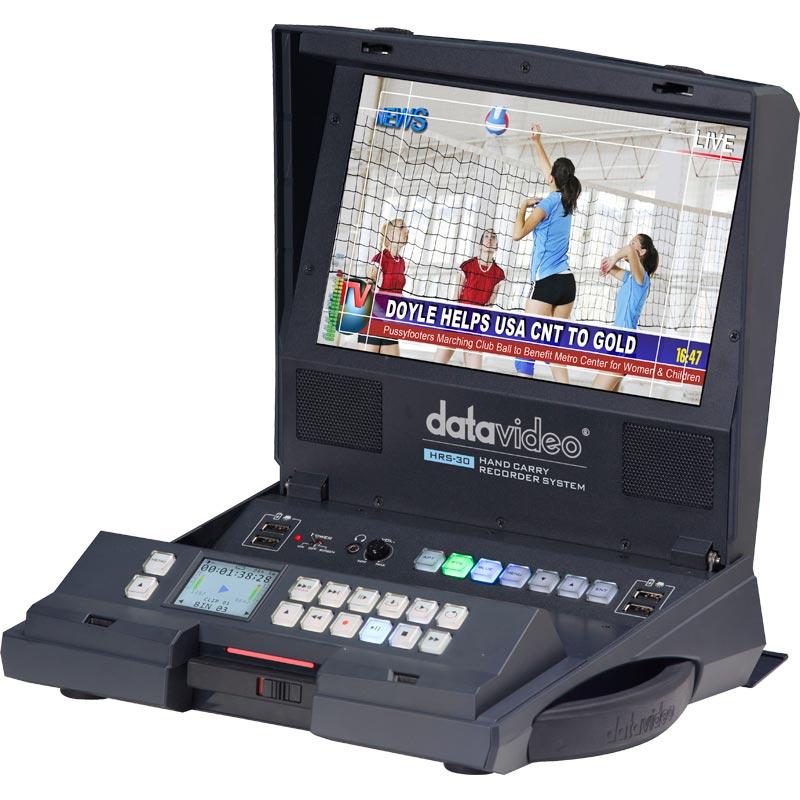 內建 10.1吋監看螢幕的手提式硬碟錄影機