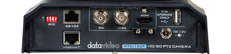 Single cable transmission by HDBaseT technology