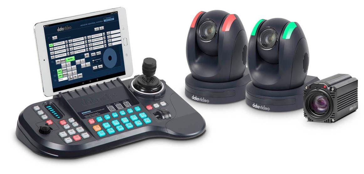 Control up to 24 cameras