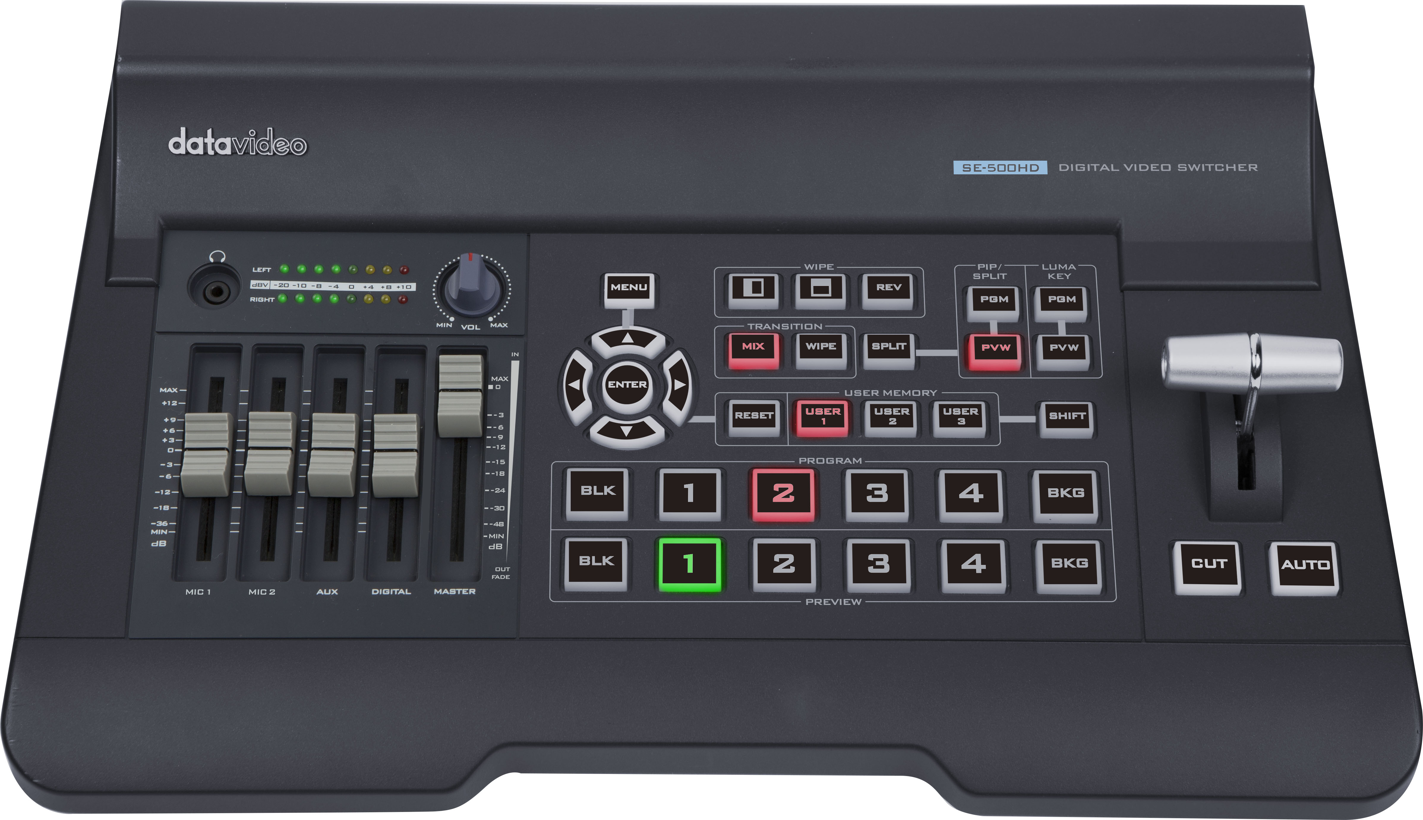 Powerful compact switcher